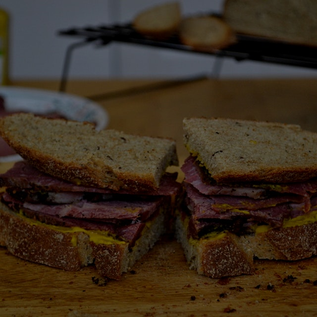 The amount of effort it takes to make your own deli meat is minimal but it does take a few days. ...