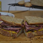 The amount of effort it takes to make your own deli meat is minimal but it does take a few days. Still totally worth it!