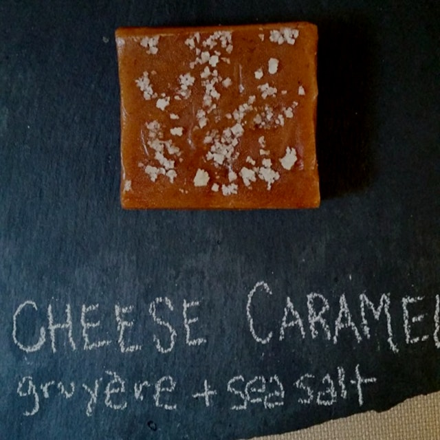 This cheese caramel is rather epic in nature: milky, salty, sweet. I was just @61local doing a ta...