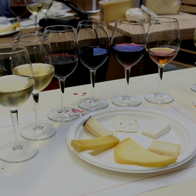 """The most natural pairing in the world is wine and cheese. Each is capable of developing complex ..."