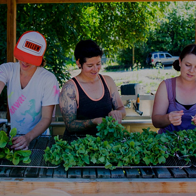 These superwomen have combined their individual passions for food, organic farming, and feeding l...