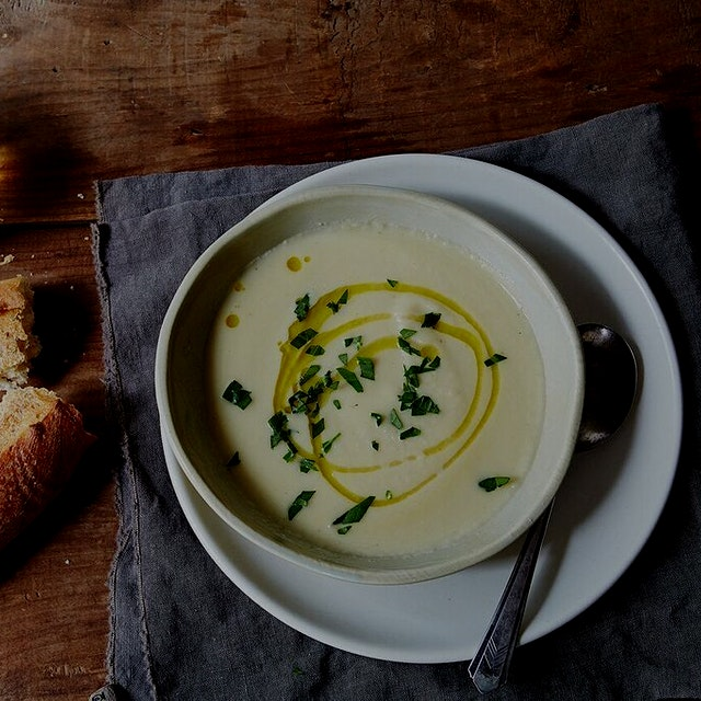 @Food52 recently did this post on salvaging salad greens in soup. I just did this with some lefto...