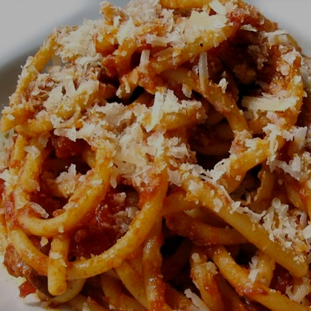 """""""This is our amatricana. It is the classic recipe.You may be asking, """"no onion?!"""" That is correc..."""