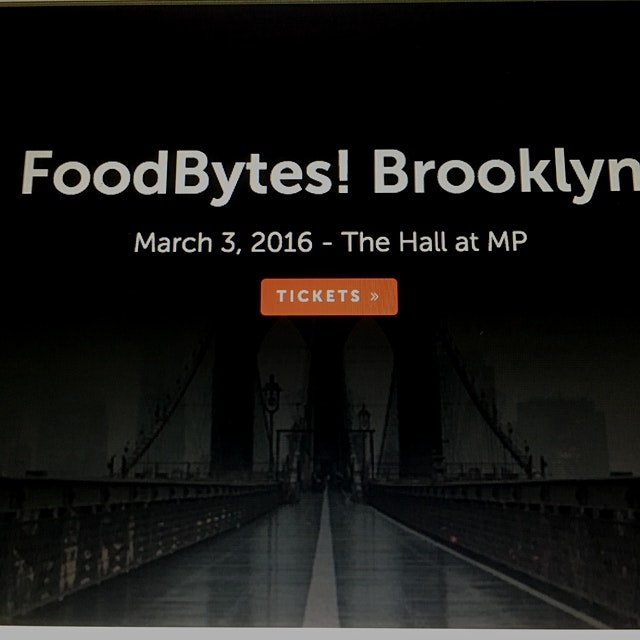 FoodBytes! Brooklyn is the latest in a series of transformational conferences designed to foster ...
