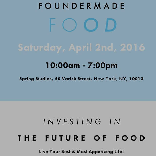 This event is a must for food entrepreneurs and start ups. It's fun, informative, and great expos...