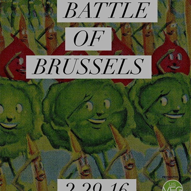 The new kale? Only the Battle of Brussels will tell!  Chefs from around the city will bring their...