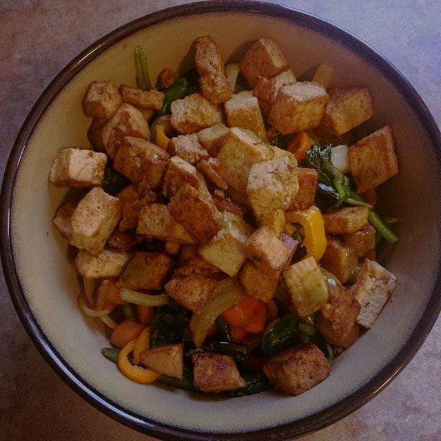 Crispy Tofu Stir-fry
