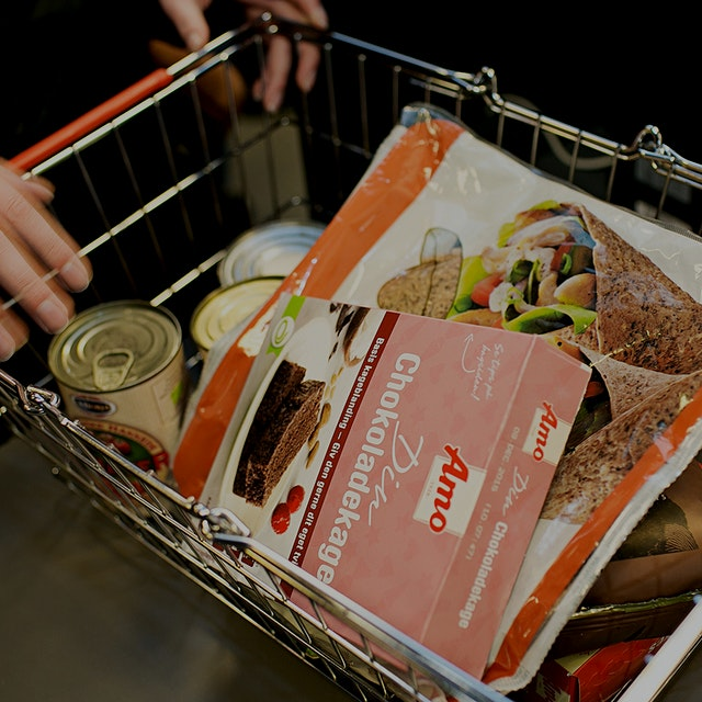 Shoppers are flocking to a supermarket hawking perfectly edible but unsalable food items at a ste...
