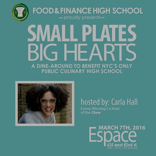 A  dine around with 25 of NYCs top chefs to benefit the only public culinary high school in NYC c...