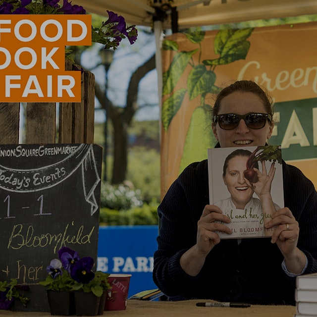 Help write the next chapter of Food Book Fair, the first-of-its-kind festival all about food medi...