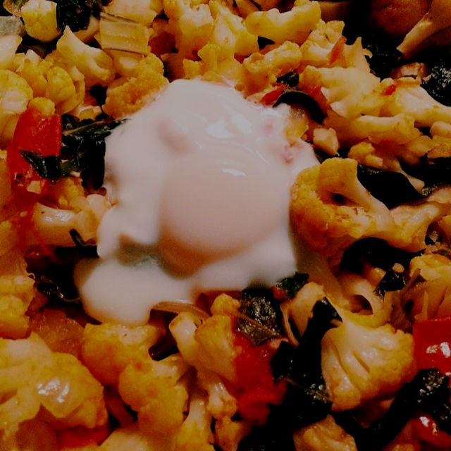 When in doubt, poach an egg in it. @corbinhillfarm supplies make the best dinner.