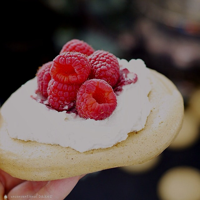 ...A good way to use up all that chickpea cooking water (aquafaba) and make eggless meringue in t...