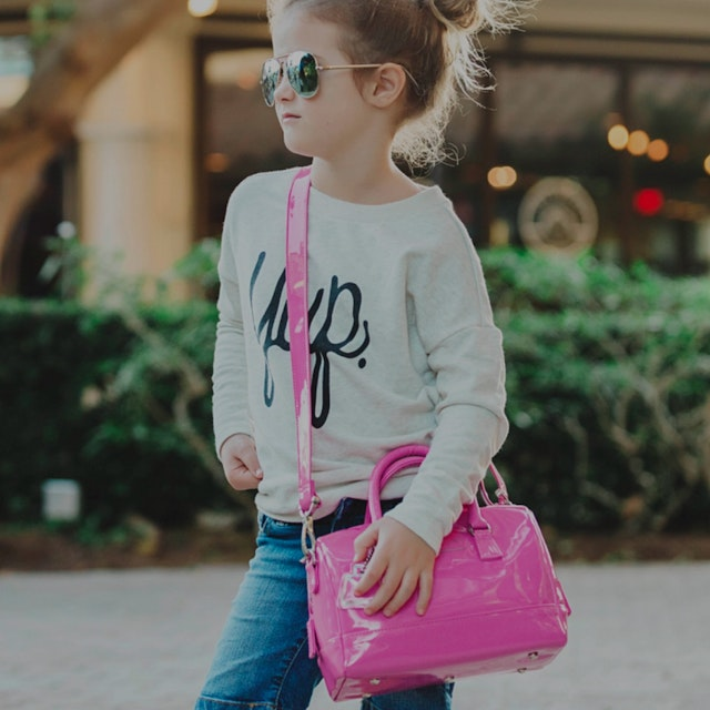 A purse + lunch box for girls. She's looking for great marketing ideas and partnerships? Sent her...