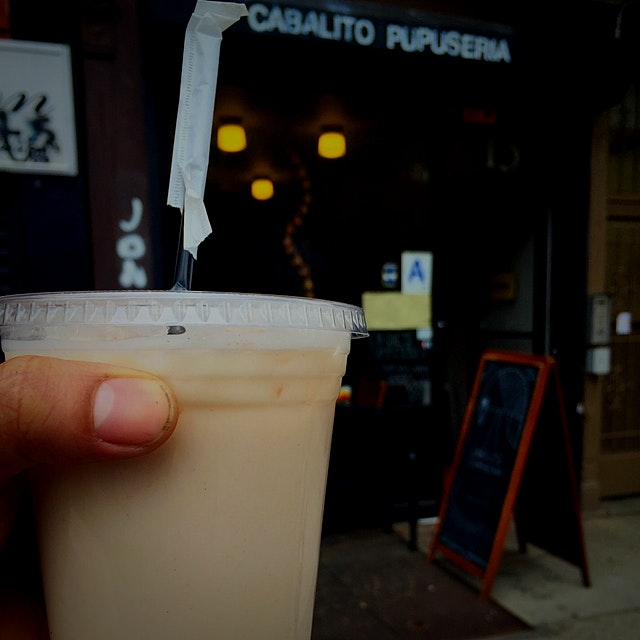 We serve Vegan Non-Dairy Horchata at Cabalito
