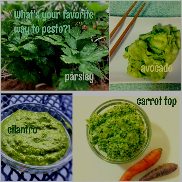 What's your favorite way to pesto?!