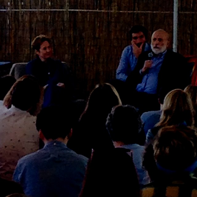 Food giants Alice Waters and Carlo Petrini talk 25 years of Slow Food and 20 years of Edible Scho...