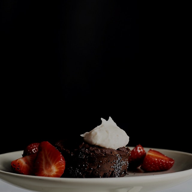 Chocolate Beet Cake with poppy seeds... dark chocolate cake with subtle beet sweetness. Serving t...