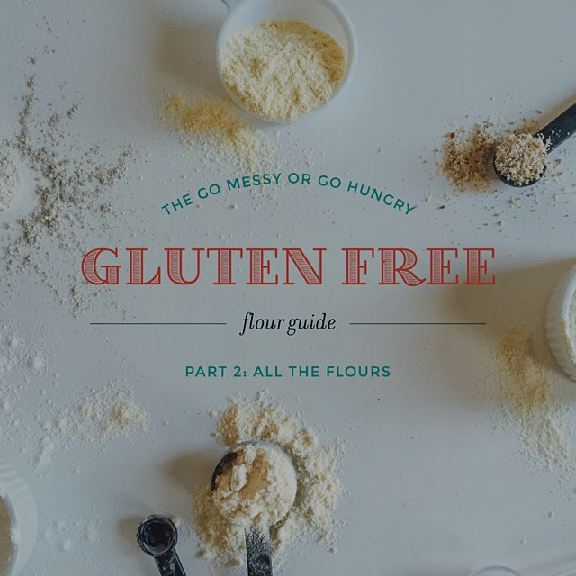 Over the past few years, I've developed a pretty good understanding of how gf flours behave + tas...