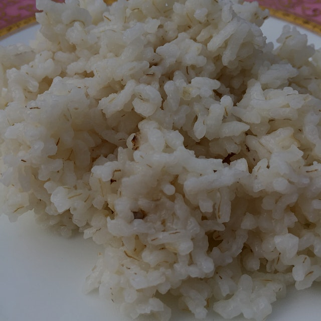 Complete with flecks of bran. From #AnsonMills and #Quinciple. The history of this rice is fascin...