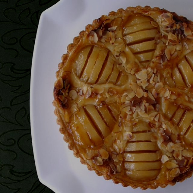 Try baking our French Pear Tart Recipe on www.CraftyBaking.com Save $10 when you join between now...