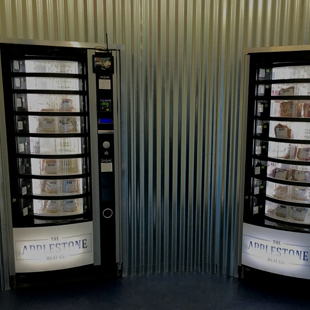 """Behold the meat vending machine that could change the local, sustainably-raised meat industry."" ..."