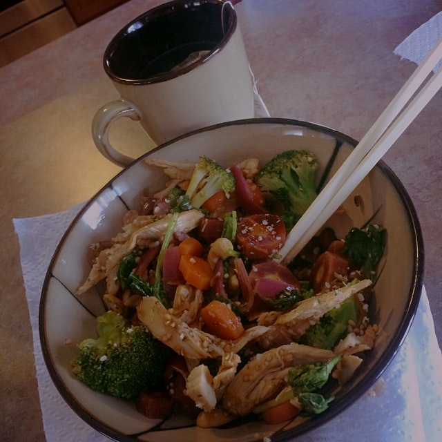 You can never go wrong with a quick stir fry!
