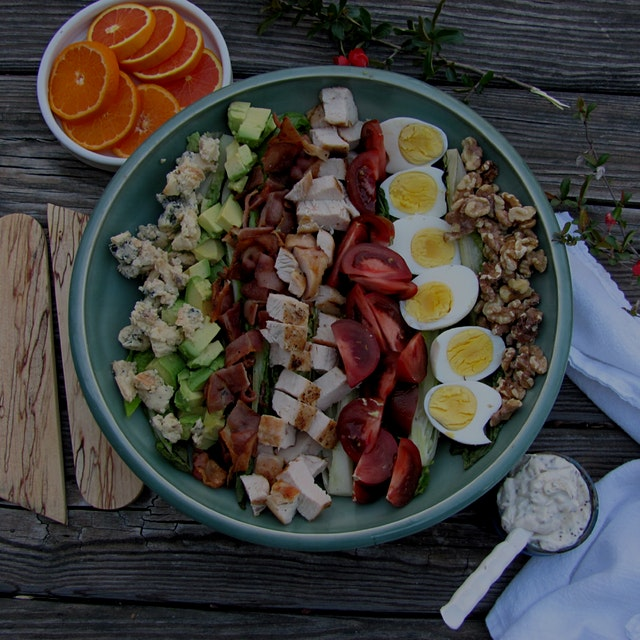 """The legend of the Cobb Salad involves a Hollywood chef who threw something together using leftov..."