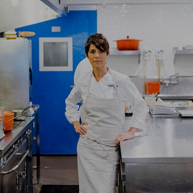 """Hey, I'm a chef. I'm a chef, period. But you know what? I'm a female. I'm a woman. And I'm so pr..."