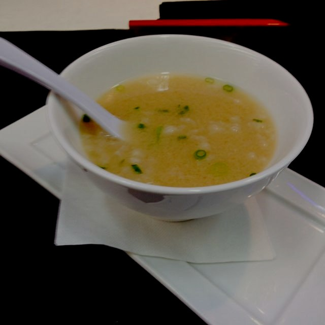 Not bad Ohare airport. #misosoup