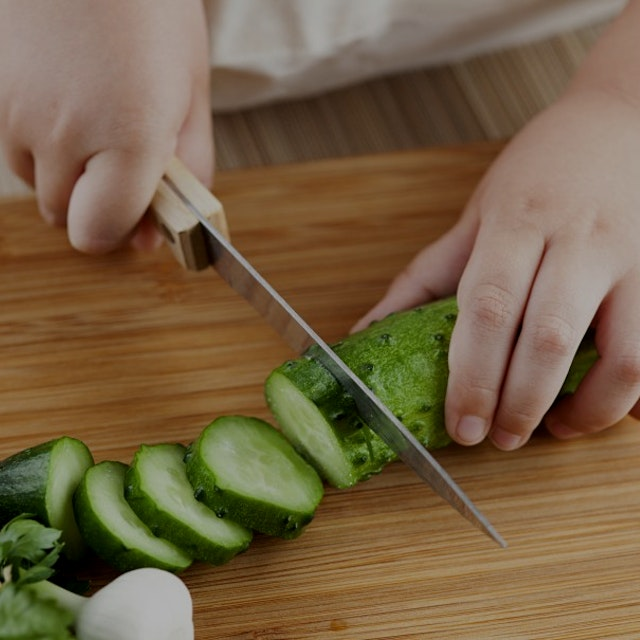 Seven ways we can get a grip on our fears or controlling behaviors and inspire our kids to cook i...