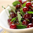 It's Cherry season! Did you know, depending on the conditions of the growth, about 7,000 cherries grow on an average tart cherry tree. A cherry pie is made using approximately 250 cherries. Therefore to make 28 pies, an entire tree's cherries would suffice. #FoodRevolution #DidYouKnow
