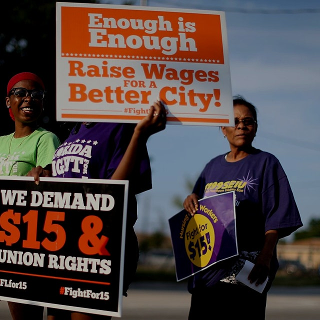"""""""Despite evidence to the contrary, fast-food franchisees say wage hikes will affect their bottom ..."""
