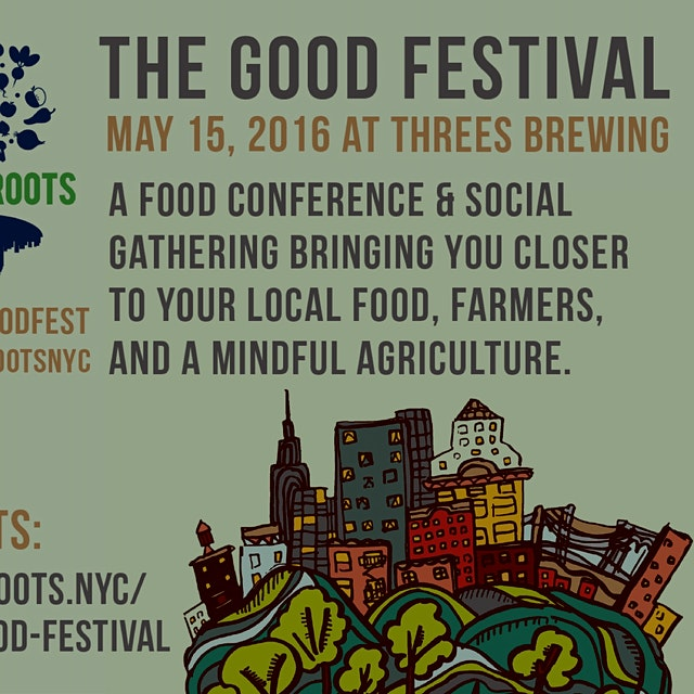 Hang with us and Local Roots NYC at Threes Brewing  Don't just buy organic foods. Learn about you...