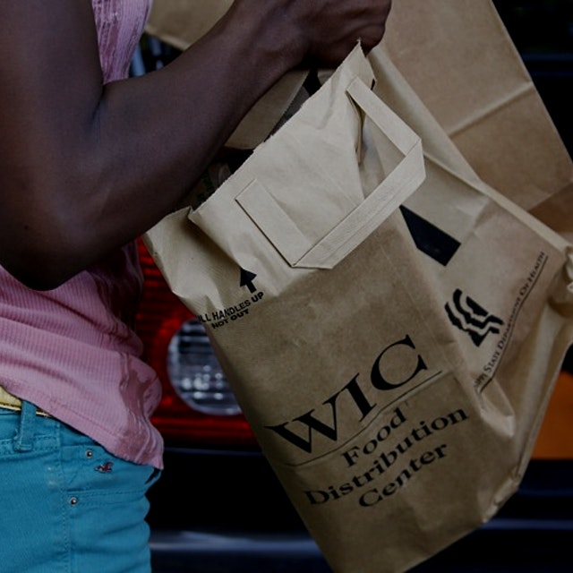 """New research shows that WIC program participants mostly redeem their benefits at large stores, b..."