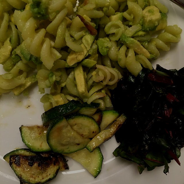 Although avocado may not be the first thing that comes to mind as a sauce base for pasta, maybe i...