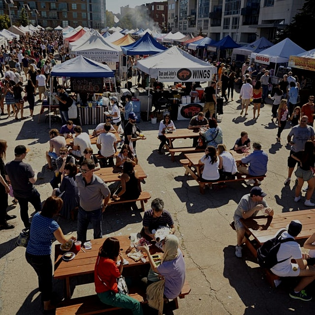 Smorgasburg is launching a market for food, design, vintage, and events every Sunday starting Jun...