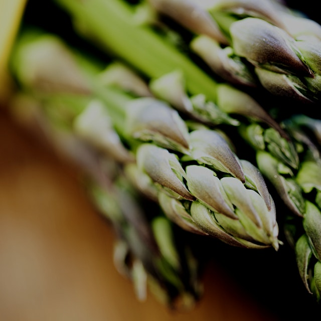 Get those asparagus recipes in while you can!