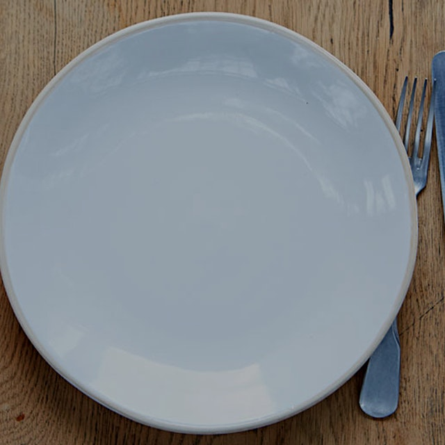 """The power of our dinner plate"""