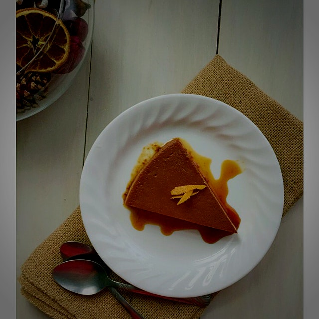 """You know What's better than Flan? Flan de Naranja! Perfect dessert for any occasion."""