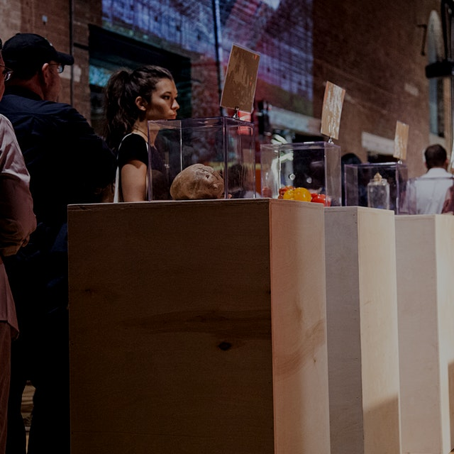 For those of you coming to Good Food Spotlight tonight, you'll be able to see some of the gallery...