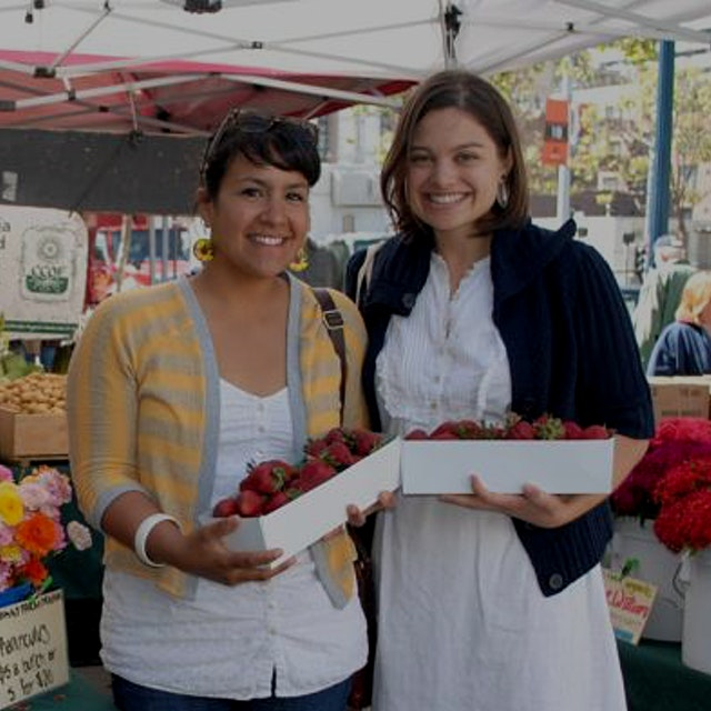 """""""Stop by the CUESA Classroom for a cooking demo featuring the seasonal bounty of the Ferry Plaza ..."""