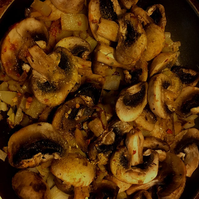 #NoFoodWaste #mushrooms #sopp #purpledinner