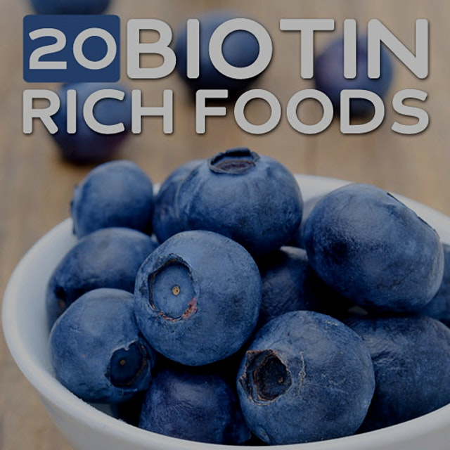 """A biotin deficiency doesn't occur very often, but not getting enough can leave your hair and ski..."