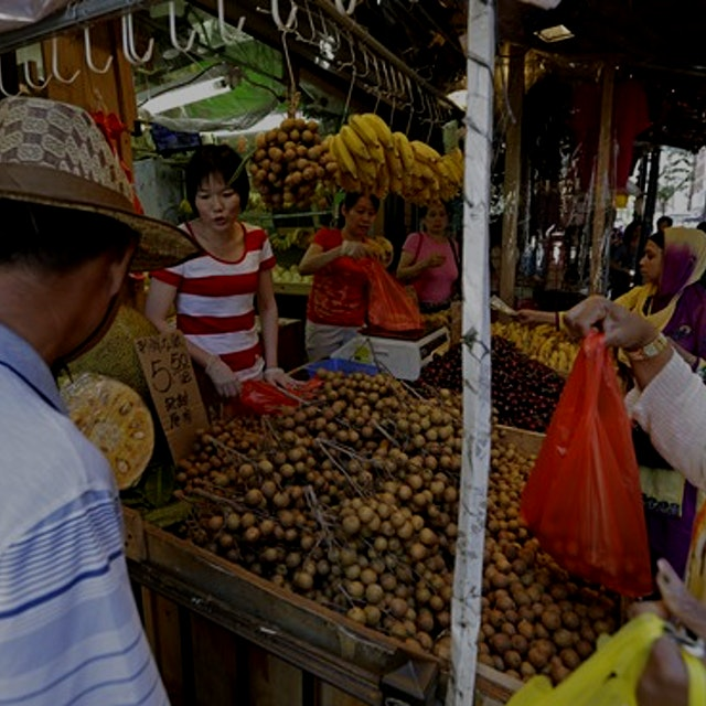 """""""Metro Money's Anne Kadet finds out how green grocers in Manhattan's Chinatown can sell their pro..."""