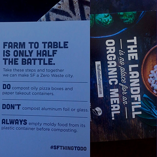 "Was surprised that this mailer came to residents of SF today!  ""SF Environment's new initiative t..."