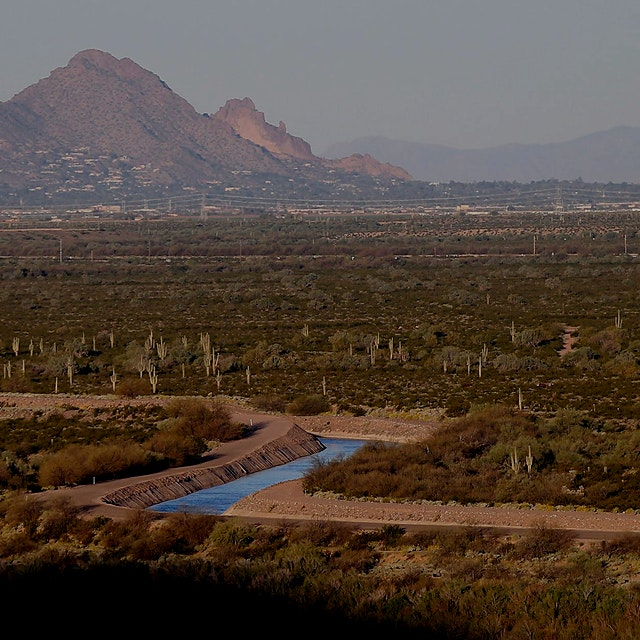 """""""Despitea 17-year drought, Phoenix has welcomed the sale of its water as a consumer product—but ..."""