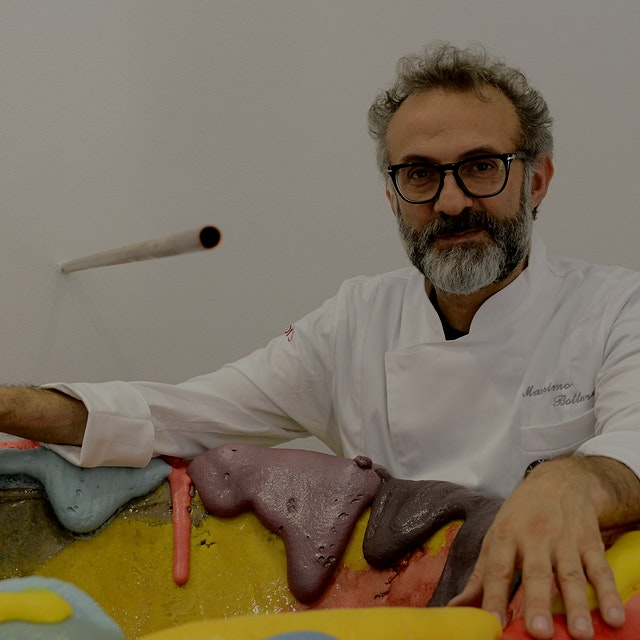 """Massimo Bottura is on a quest to address waste and hunger in cities across the world."" #NoFoodWaste"