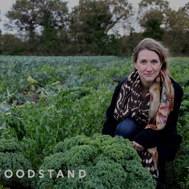 """Kristen Beddard @KristenBeddard is the queen of kale in France—she reintroduced kale to French f..."
