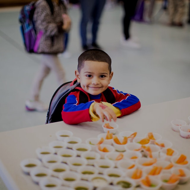 """Brighter Bites has distributed over 8 million pounds of produce to more than 20,000 families, an..."