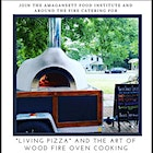 "Join us for an evening of learning about the benefits and applications of fermentation--particularly our fermented ""living pizza"" dough! The event includes pizza and wine tasting and a take home dough starter. Contact info@amagansettfoodinstitute.org for tickets and more info!  #KnowYourFarmer #AmagansettFood #Fermentation #WoodFireOven #foodventure"
